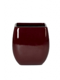 Callisto Square red Plant Pot
