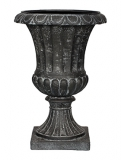 Capi Classic French vase III black Plant Pot