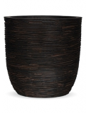Capi Nature Egg planter rib I brown Plant Pot