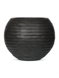 Capi Nature Row Vase round anthracite Plant Pot