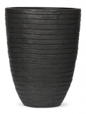Capi Nature Row Vase elegant anthracite Plant Pot