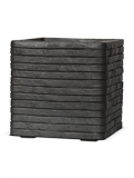 Capi Nature Row Pot square anthracite Plant Pot