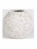 Beach planter Shell white Plant Pot