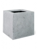Square Grey Plant Pot