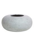 Donut Grey Plant Pot