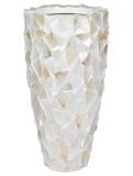 Coast Mother of pearl white Plant Pot