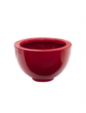 Fibrestone Glossy red peter (2) Plant Pot