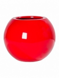 Fibrestone Mini Glossy red beth L Plant Pot