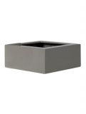 Fibrestone Glossy sand low block Plant Pot