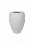 Fibrestone Mini Glossy white mini bond Plant Pot