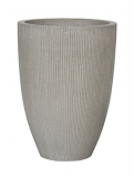 Fibrestone Ridged Cement Ben Plant Pot