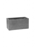 Fibrestone Balcony grey S Plant Pot