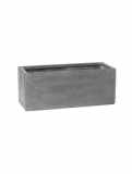 Fibrestone Balcony grey L Plant Pot