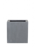 Fibrestone Block grey S Plant Pot