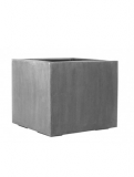 Fibrestone Jumbo without feet grey S Plant Pot
