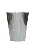 Polished Aluminium Partner Plant Pot