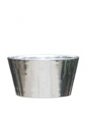Polished Aluminium Tub Plant Pot