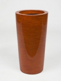 Krappa Partner bamboo red Plant Pot