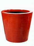 Krappa Round bamboo red Plant Pot