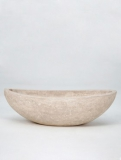 Polystone Boat natural Plant Pot