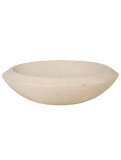 Polystone Plate natural Plant Pot