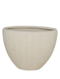 Polystone Oval natural Plant Pot