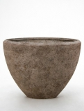 Polystone Rock Oval Plant Pot