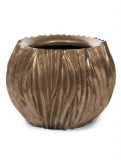 River Bowl bronze Plant Pot