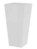 Runner Square RAL 9010 white Plant Pot