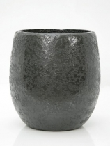 Synthetic grey Plant Pot