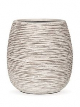 Capi Nature Pot rib ball I ivory