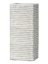 Capi Nature Row Pot rectangular ivory