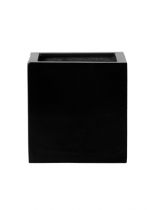 Fibrestone black Plant Pot