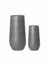 Fibrestone grey Plant Pot