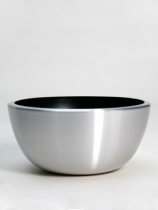 Aluminium Bowl Aluminium brushed