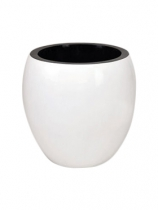 Synthetic white Plant Pot
