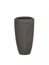 Polystone smoke Plant Pot