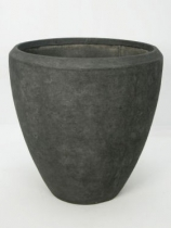 Polystone grey Plant Pot
