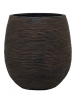 Capi Nature Pot rib ball I brown 25cm Wide & 28cm High