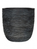 Capi Nature Egg planter rib II black 35cm Wide & 34cm High