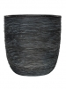 Capi Nature Egg planter rib III black 43cm Wide & 41cm High