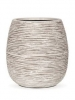 Capi Nature Pot rib ball I ivory 25cm Wide & 28cm High