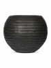 Capi Nature Row Vase round anthracite 42cm Wide & 34cm High