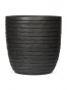 Capi Nature Row Pot round anthracite 36cm Wide & 35cm High