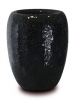 One Vase Black 23cm Wide & 30cm High