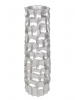 Mosaic Column Silver 32cm Wide & 87cm High