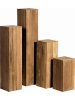 Teak Recycled teak 40cm Wide & 125cm High