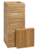 Modulo Pedestal Natural teak 40cm Wide & 100cm High