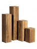 Teak Recycled teak 30cm Wide & 75cm High