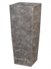 Polystone Timeless Square lava raw grey 42.5cm Wide & 95cm High